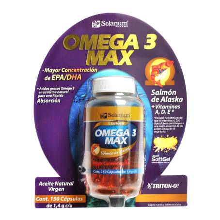 24bf595b2c1 Omega 3 Max a precio de socio